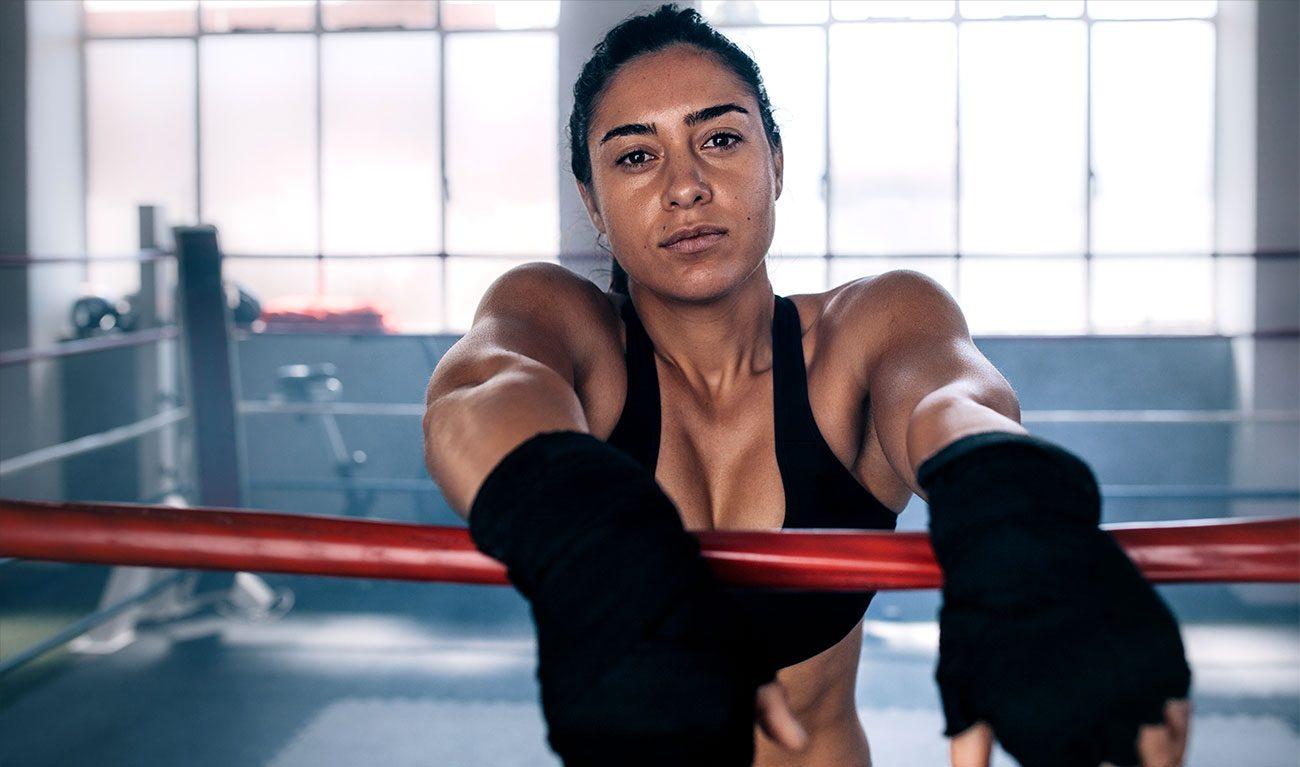 women Boxer