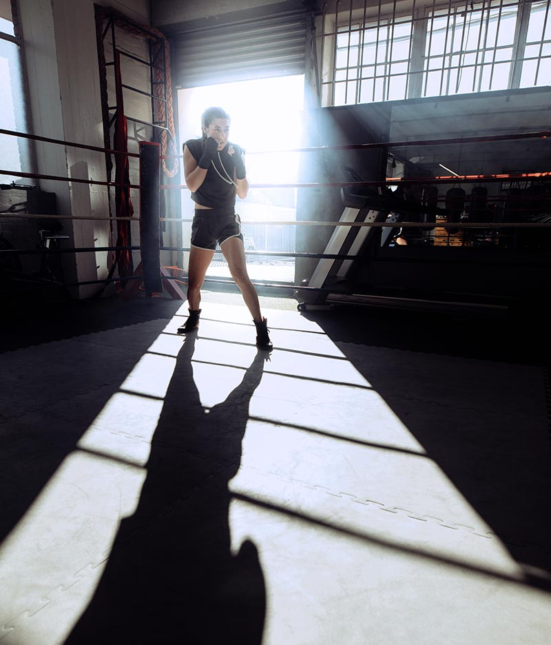 Boxing in a ring